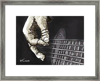 Flat Pickin' Framed Print by David Fossaceca