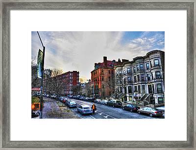 Flatbush Ave In Brooklyn Framed Print by Randy Aveille