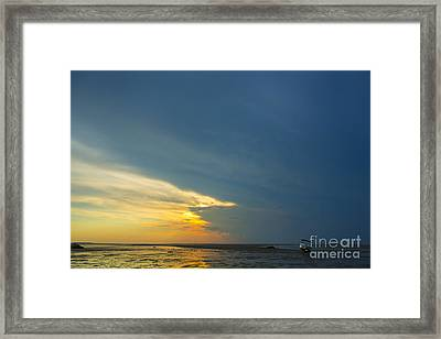 Flats Of Brewster, Cape Cod Framed Print by Diane Diederich