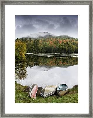 Flavor Of The Adirondacks Framed Print by Brendan Reals