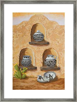 Flavor Of The Soutwest Part 3 Framed Print by Jerry McElroy