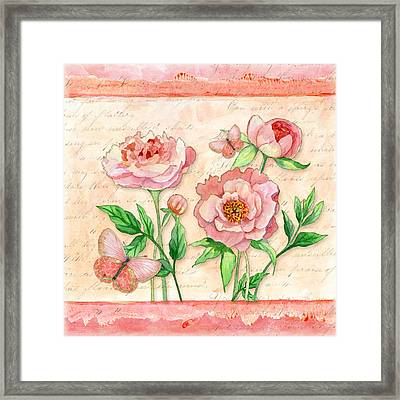 Fleeting Glory Framed Print by Audrey Jeanne Roberts