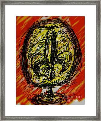 Fleur De Cocktail Framed Print by John Giardina
