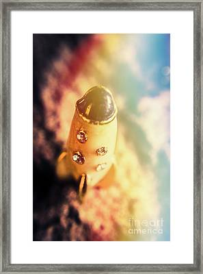 Flight Of Space Fiction Framed Print by Jorgo Photography - Wall Art Gallery