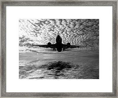 Flight Path 2 Framed Print by Sharon Lisa Clarke