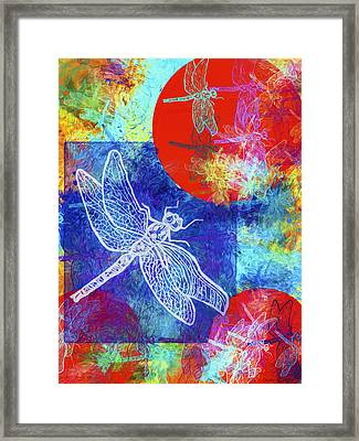 Flight Taking Form Framed Print by Jo-Anne Gazo-McKim