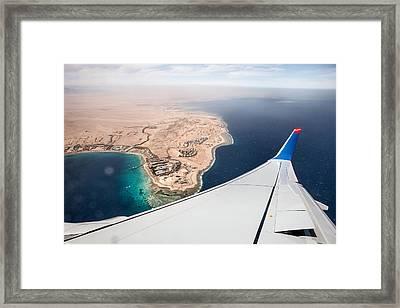 Flight To Egypt Framed Print by Nailia Schwarz