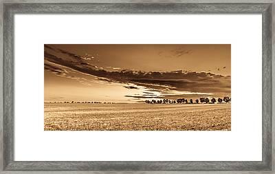 Flight To Infinity Framed Print by Mah FineArt