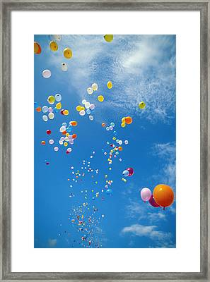 Float Away Framed Print by Bob Abraham - Printscapes