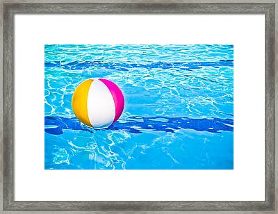 Float Framed Print by Colleen Kammerer