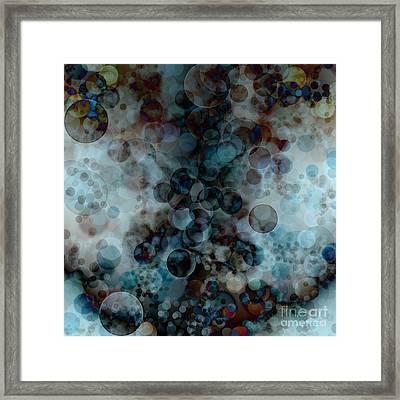 Floating Bubbles Framed Print by Michal Boubin
