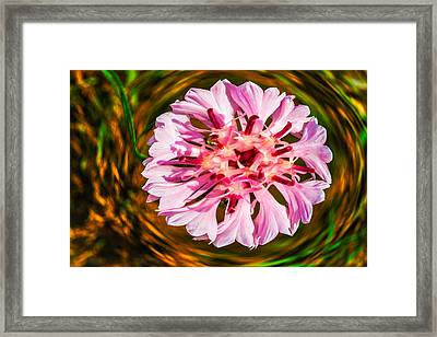Floating In Time Framed Print by Omaste Witkowski