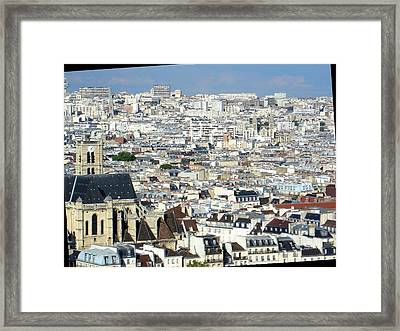 Flooded By Concrete Framed Print by Roberto Alamino