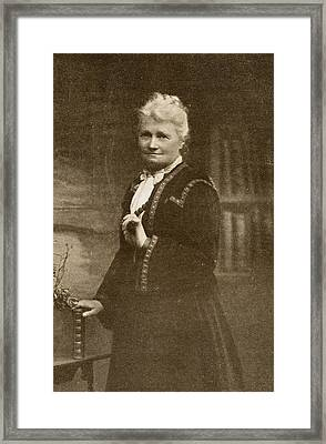 Flora Annie Steel, 1847-1929. English Framed Print by Vintage Design Pics