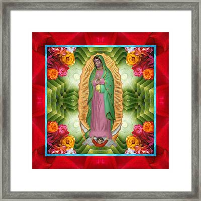 Flora Madre Framed Print by Bell And Todd