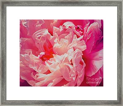 Floral Dress Framed Print by SK Pfphotography