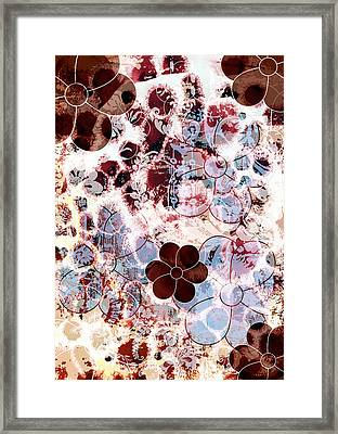 Floral Essence Framed Print by Frank Tschakert