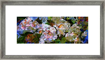 Floral Fiction 2 Framed Print by Hanne Lore Koehler