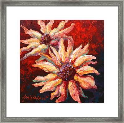 Floral Mini Framed Print by Marion Rose