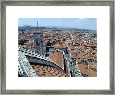 Florence Duomo Framed Print by Joseph R Luciano