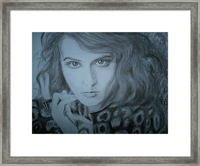 Florence Welch, Florence And The Machine Framed Print by Adrienne Martino