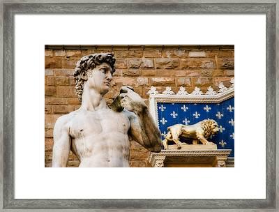 Florentine Icons Framed Print by Mick Burkey