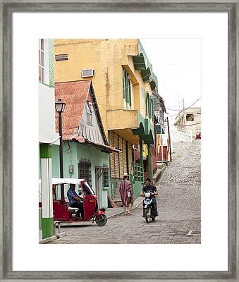 Flores Guatemala Framed Print by Kelly Avenson