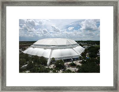 Florida Gators Stephen C. O'connell Center Framed Print by Replay Photos