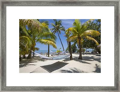 Florida Keys Heavenly Place Framed Print by Melanie Viola