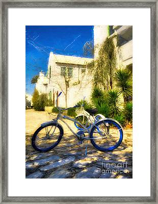 Florida Panhandle Peddler # 2 Framed Print by Mel Steinhauer