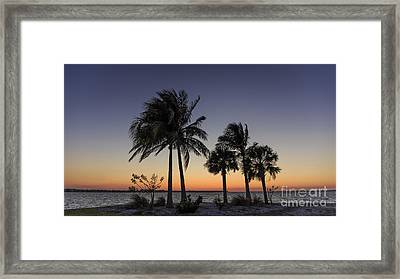 Florida Sunset Framed Print by Edward Fielding