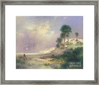 Florida Framed Print by Thomas Moran