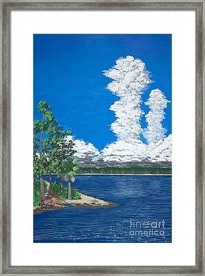 Florida Thunderheads Framed Print by Philip Capps