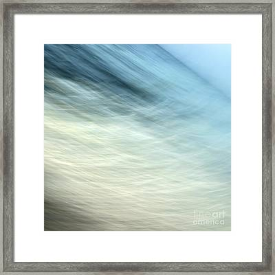 Flow 1 Framed Print by Janet Burdon