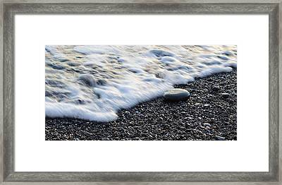 Flow Framed Print by Andrea Guariglia