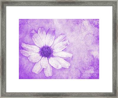 Flower Art II Framed Print by Angela Doelling AD DESIGN Photo and PhotoArt