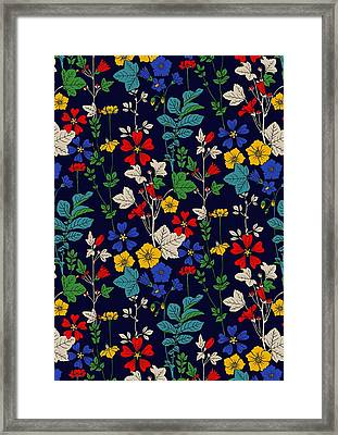 Flower Bed Framed Print by Sholto Drumlanrig