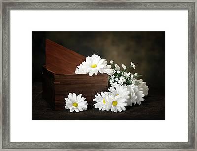 Flower Box Framed Print by Tom Mc Nemar