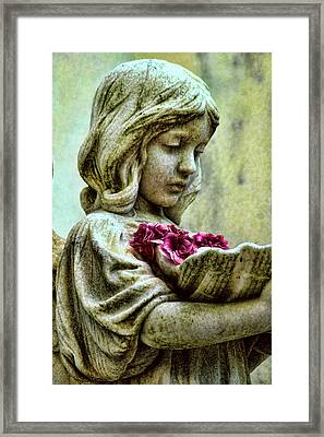Flower Child Framed Print by Joetta West