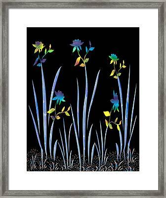 Flower Dance Framed Print by Kurt Van Wagner
