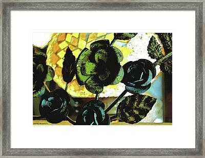 Flower Deco Framed Print by Michelle Ressler