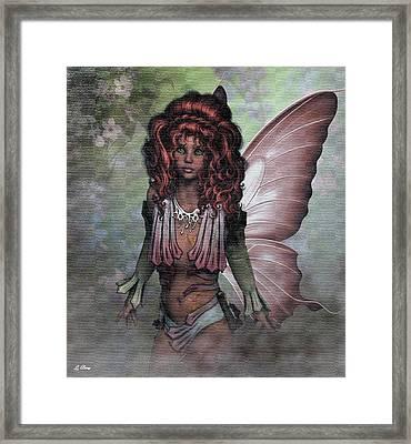 Flower Fairy 009 Framed Print by G Berry