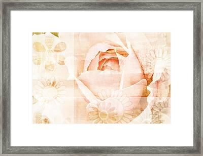 Flower Garden Framed Print by Frank Tschakert