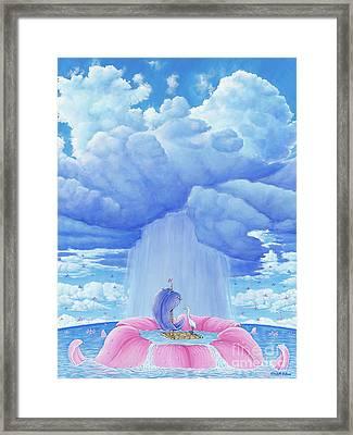 Flower Power Framed Print by Elisabeth Sullivan