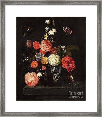 Flower Still Life Framed Print by Celestial Images