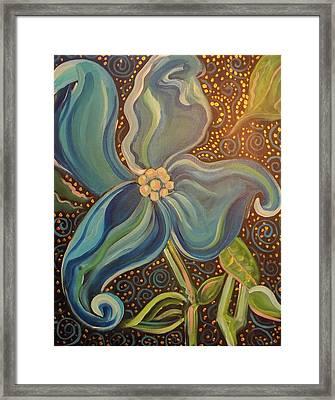 Flowering Dogwood Framed Print by John Keaton