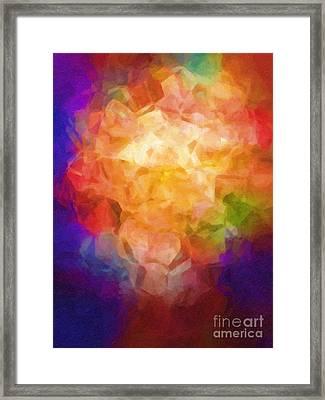 Flowerpot Framed Print by Lutz Baar