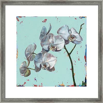 Flowers #10 Framed Print by David Palmer