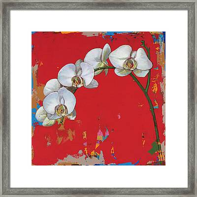 Flowers #14 Framed Print by David Palmer
