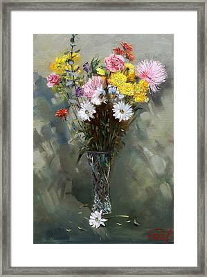 Flowers 2010 Framed Print by Ylli Haruni